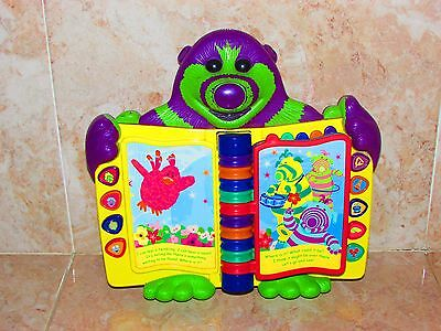Fimbles Musical Learning Book Style Toy By Mattel 2003