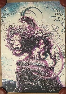 Widespread Panic Red Rocks Miles Tsang Variant Sour Grape X/70 A/P Print Poster