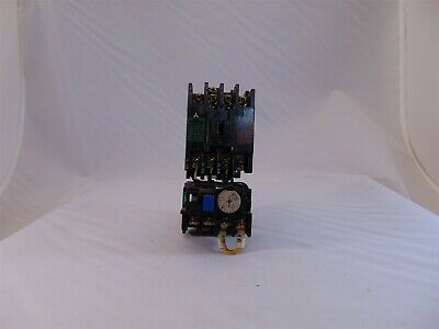 Mitsubishi Electric S-K1101 Contactor w/ TH-K12 Thermal Overload