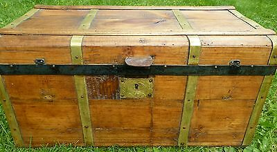 Antique Refinished Trunk / Chest