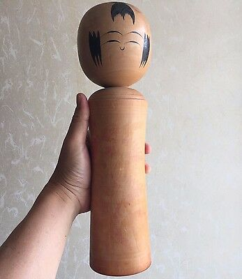 34cm Kokeshi Naruko Ito-Fumihiro(1926-) Japan Antique Wooden Doll No.NK629