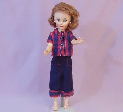 """LOVELY 19"""" FASHION DOLL 1950s"""