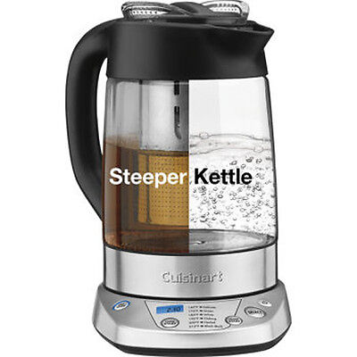 NEW! Cuisinart TEA-100C PerfecTemp Programmable Tea Steeper and Kettle 1500W
