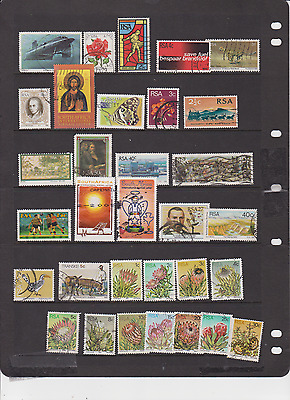 Rsa - South Africa Lot Used 100 Plus