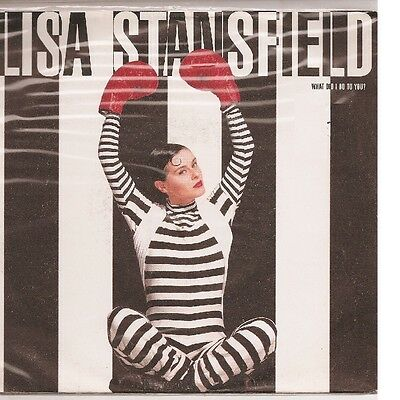 """LISA STANSFIELD - WHAT DID I DO TO YOU ? - 45gg 7"""" - MINT"""