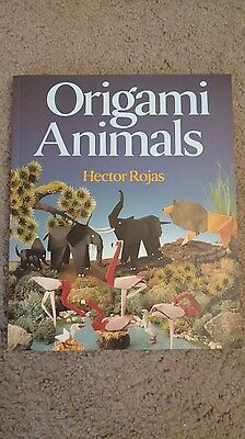 Origami Animals by Hector Rojas Paperback