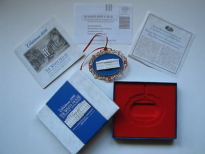 Christmas 2000 - The White House 200th Anniversary Ornament - Collectors