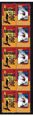 Andy Irons 2003 Surf W/c Hall Of Fame Mint Stamps 1