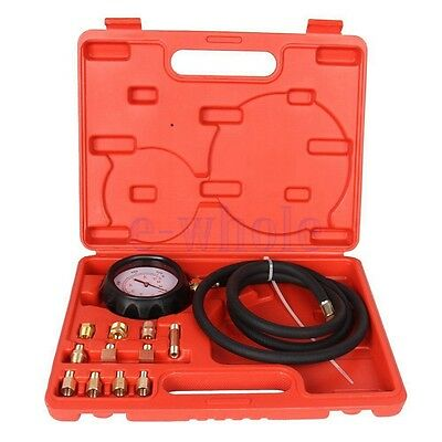 Engine Oil Pressure Test Tester Low Oil Warning Devices Car Garage Tool Set WT