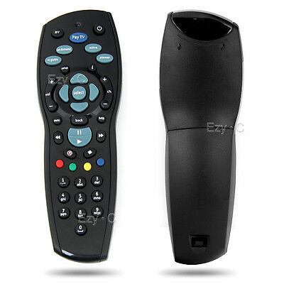 Remote Control Controller Replacement Black For Foxtel Mystar HD PayTV IQ2 IQ3