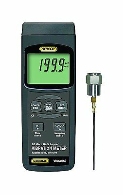 General Tools VM8205SD Vibration Meter, With Data Logging SD Card
