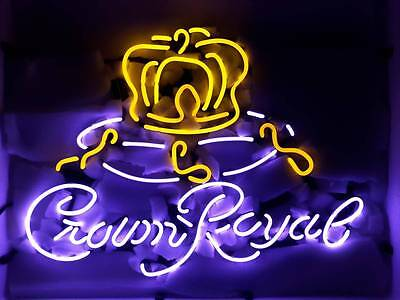 Crown Royal neon beer bar sign new in box FREE SHIPPING!