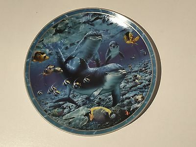 """""""Friends Of The Deep"""" Porcelain Collectors Plate - The Bradford Exchange"""