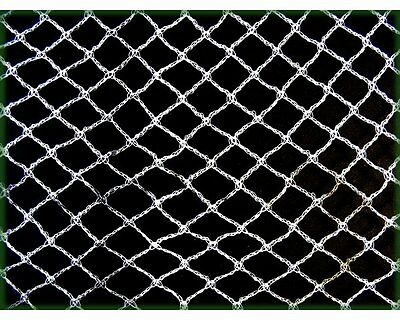 Knitted Anti Bird Netting WHITE - 10m Wide x All Lengths Commercial Pest Netting
