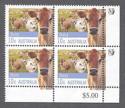 2012 Australian Block of 4 x 10cent MUH Stamps With Koalas