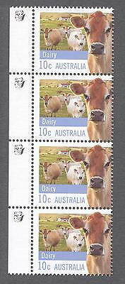 2012 Australian Strip of 4 x 10cent MUH Stamps Farming