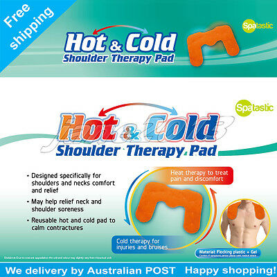 Hot & Cold  Microwaveable Heat Pad gel Shoulder Wrap 45x31cm AU