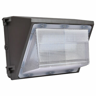 45W LED Wall Pack Fixture Outdoor Lighting 5000K 5300Lumens Waterproof Lamp DLC