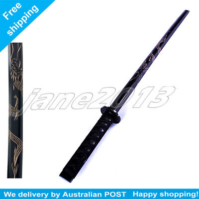 1X Red Datio Bokken Wooden Katana Kendo Samurai Practice Sword 101cm