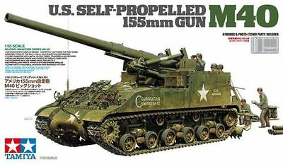 Tamiya 35351 1/35 US SELF-PROPELLED 155mm GUN M40 Japan2
