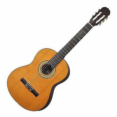 New Martinez Classical Guitar Full Size 4/4 Beginner Nylon String Guitar (Satin)