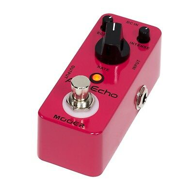 NEW Mooer Ana Echo Micro Electric Guitar Effects Pedal True Bypass FREE SHIP