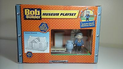 Bob the builder: museum playset by character toys ☆ NEW