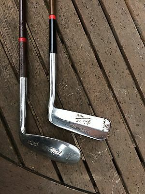 Old Vintage Golf Club and Putter - Metal Shafted