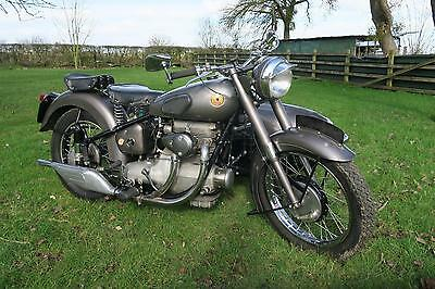 Sunbeam S8 Outfit 1950 500cc In Superb Order