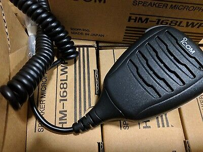 ICOM HM-168LWP Waterproof Speaker Microphone
