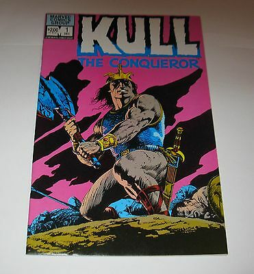 Vintage Kull The Conqueror Comic Book Vol 1 - No 1 / 1982 FREE SHIPPING