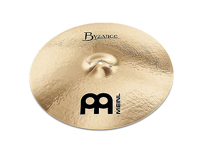 "Meinl Byzance Brilliant 18"" Medium Thin Crash B18MTC-B Cymbal"