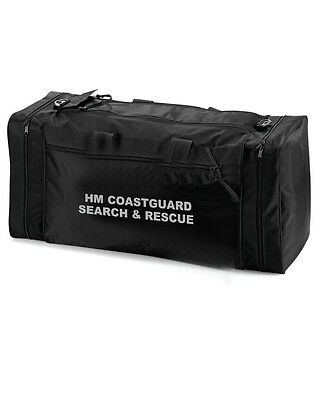 1 x HM COASTGUARD SEARCH & RESCUE Large Black Holdall/Work Bag Ideal for RNLI