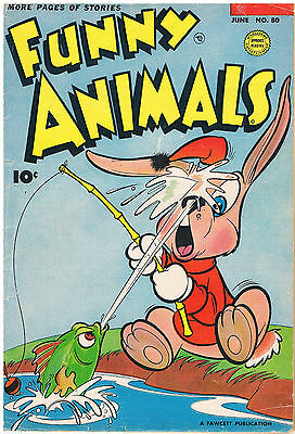 Fawcett's Funny Animals #80 1953: American Golden Age Comics In Color: Hoppy