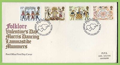 G.B. 1981 Folklore set on Post Office First Day Cover, Salisbury