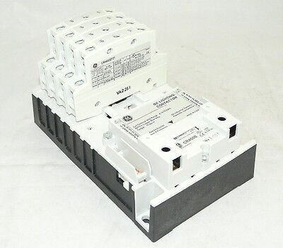 New General Electric CR460B CR463L40ANA  4 pole 277 volt Lighting Contactor