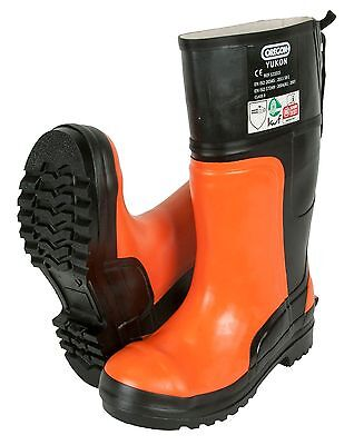 Oregon Yukon Chainsaw Rubber Safety Boots Class 3 (28 m/s) - All Sizes