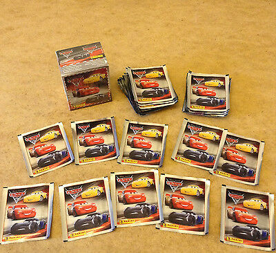 Panini Disney Cars 3 Album Sticker Packets Brand New Sealed Cars 3 Packets