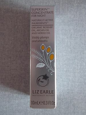 Liz Earle Superskin Concentrate for Night 10ml ~ New & Boxed ~ Rollerball