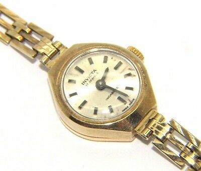 Beautiful Ladies vintage Invicta 9Ct 9 Carat Watch
