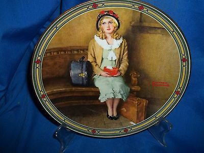 Rockwell Plate  A Young Girls Dream American Dream Series Knowles
