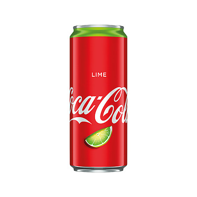 Coca Cola Lime - 330ml - RARE - NEW GREAT TASTE - MUST TRY - MUST HAVE