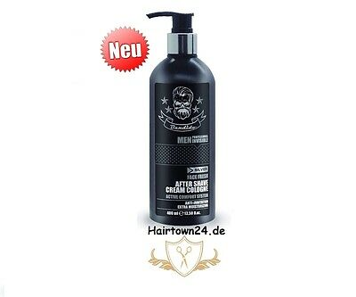 Bandido Cream Cologne Invisible  Aftershave Balsam Black 400ml (100ml/2,07€)