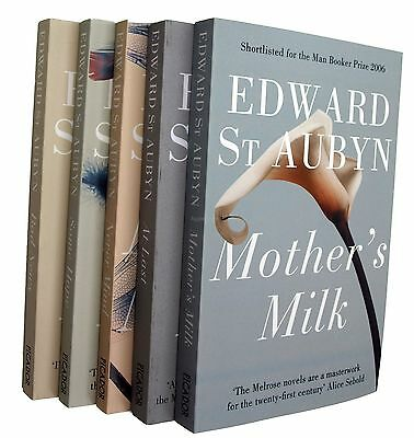 Edward St Aubyn Patrick Melrose Novels 5 Books In Order New