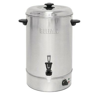 Buffalo Manual Fill Water Boiler 30Ltr 519x 433x440mm Stainless Steel Hot Heater