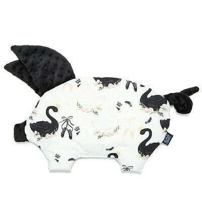 Sleppy Pig Pillow La Millou MOONLIGHT Swan  Gift Baby Shower Crib Cot Puschair