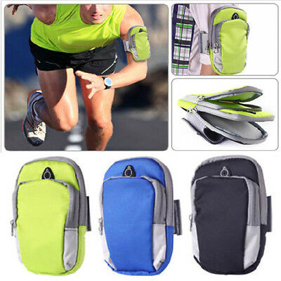 Universal Sport Running Riding Arm Band Pouch Case Bag For Mobile Phones Holder