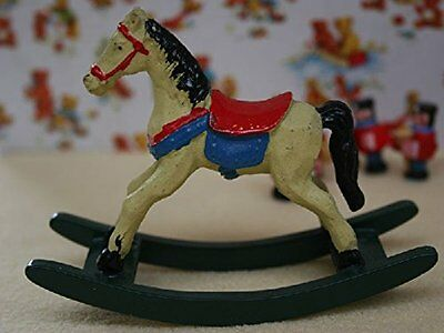 Dolls House Miniature 1:12th Scale Rocking Horse