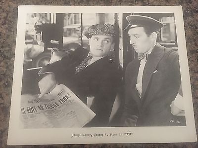 "8X10 Photo Jimmy Cagney, George E. Stone in ""Taxi"""