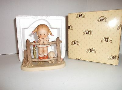 """1987 Enesco Attwell Memories Of Yesterday """"What Will I Grow Up To Be"""" MIB"""